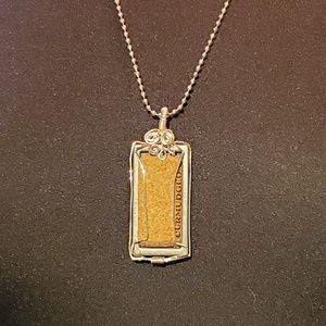Handmade silver Wire warped  Necklace